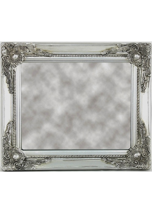 Large bird dressing table mirror interior flair for Small silver mirror