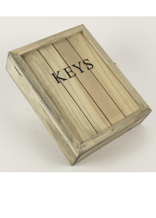 SBF008_4 Wooden Key Cabinet