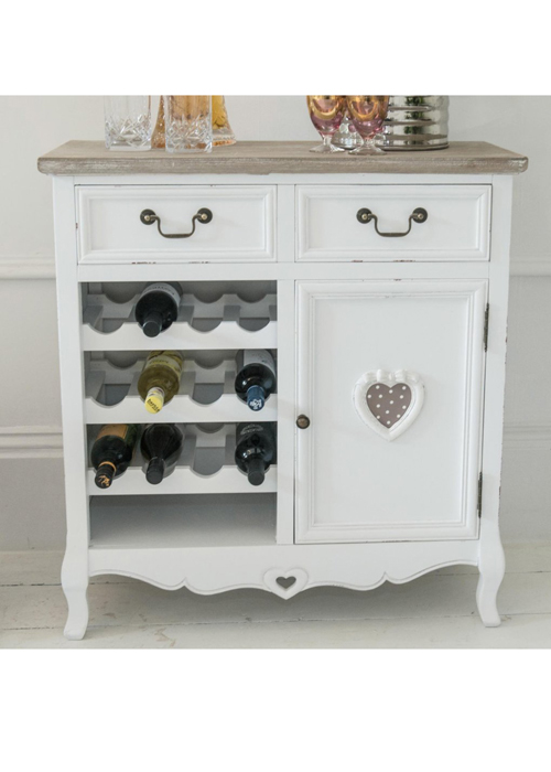 Kitchen Wine Rack White