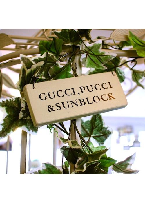 Gucci Pucci Sign