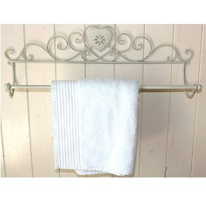 Heart Bathroom Towel Rail