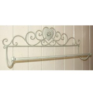 Heart Bathroom Towel Rail 2