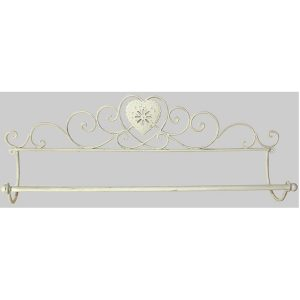 Heart Bathroom Towel Rail 3