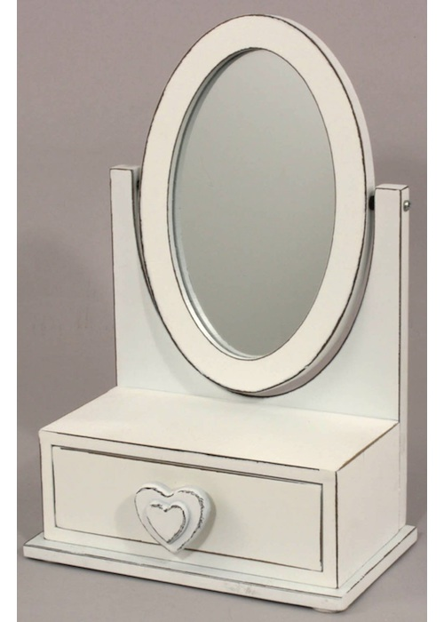 Elegant Dressing Table Mirror With Drawer Interior Flair