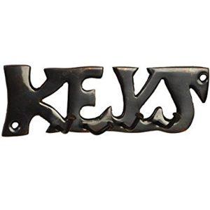 Brass Keys Hooks