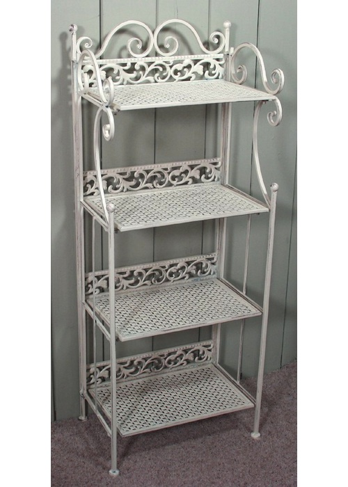 4 Tier Decorative Folding Shelves Interior Flair
