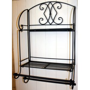 Black Towel Rail 2