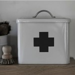 Cream First Aid Tin
