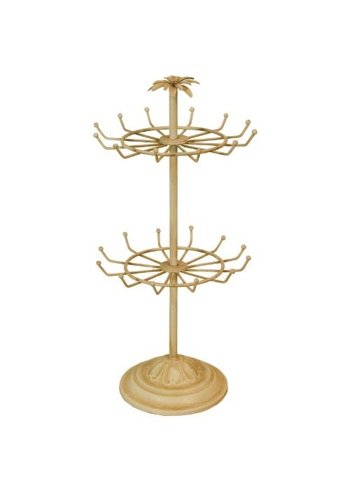 Cream Jewellery Stand Holder