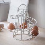 Round egg holder a