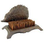 3933 hedgehog boot shoe scraper brush