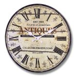 6915 collectables heirlooms wall clock