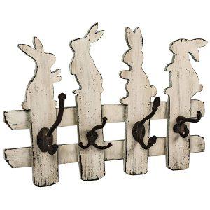 GUD225 bunny rabbit white hooks