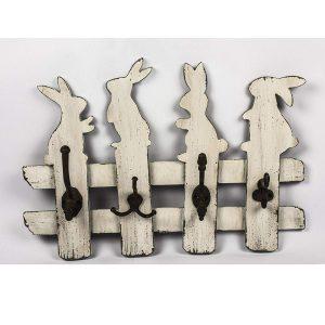 GUD225_1 bunny rabbit white hooks