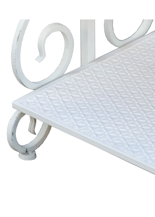 ka108xd-white clothes rail