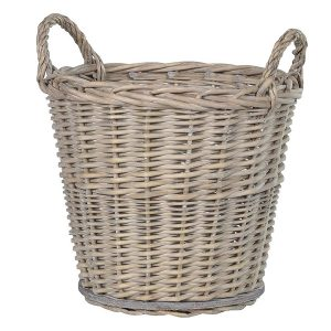 LG122 grey wash natural basket