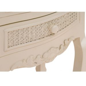 pfj005-detail-1 Off White Wood Rattan Bedside Table