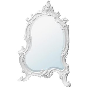 tbm116-wh-35-58 white ornate mirror
