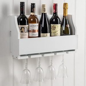 M900803_a_Wooden Paris White Stem Wine Rack