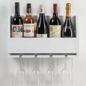 M900803_b_Wooden Paris White Stem Wine Rack