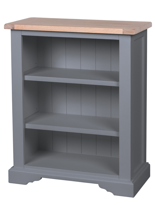 Sturdy Hand Crafted Dove Grey Pine Oak Assembled Low