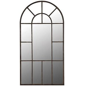 STN651 Extra Large Elegant Georgian Style Metal Frame Window Mirror …