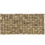 PFI001 Brown Bamboo Table Place Mats Set of 4