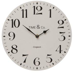 White London Wall Clock in Gift Box