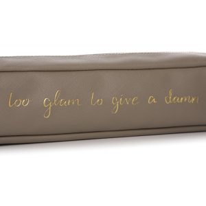 91809_Taupe Gold Hair Straighteners Bag Case 2