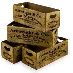 FC28 Vintage Style London Market Crate Box