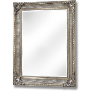 15328 Large Antique Gold Wall Mirror