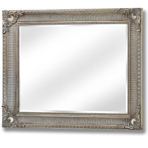 15328-a Large Antique Gold Wall Mirror