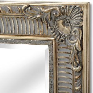 15328-b Large Antique Gold Wall Mirror