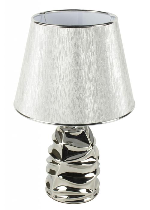 WUD012__Silver Chrome Segment Table Lamp