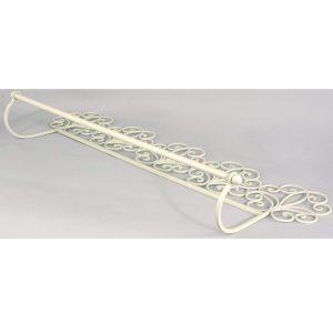 YF1008-1 Antique Cream Scroll Wall Towel Rail