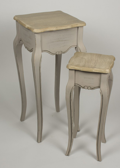 ZJW109_3_French Country Grey Brown Nested Tables