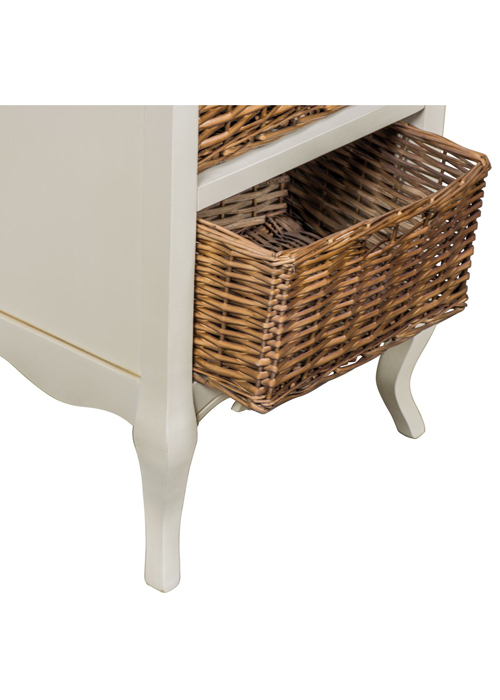 ZJW138_2_French Antique Cream Basket Cabinet