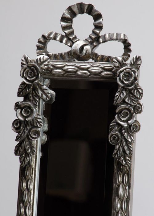 SNQ002S_1_Ornate Silver Full Length Slim Mirror