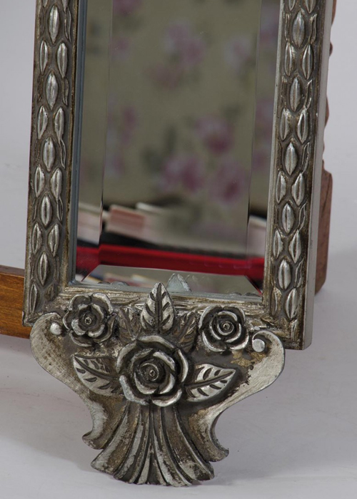 SNQ002S_2_Ornate Silver Full Length Slim Mirror