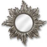 18676 Decorative Star Antique Silver Wal