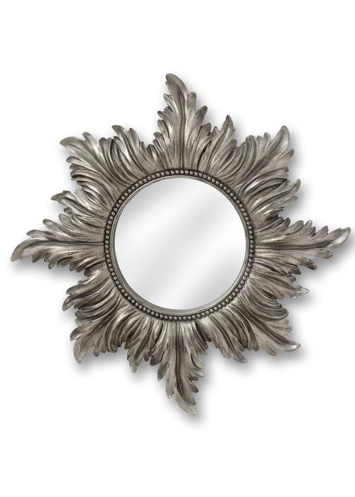 Silver Wall Mirrors Decorative.Decorative Star Antique Silver Wall Mirror