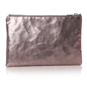 77054-1_Grey Silver 'I Like' Cosmetics Bag