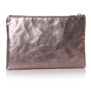 77054-1_Grey Silver 'I Like' Cosmetics Bag