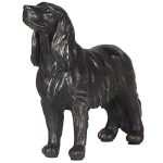 NAN163 Brown Standing Spaniel Dog Ornament