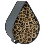 Contemporary Grey Raindrop Insect Bee House a