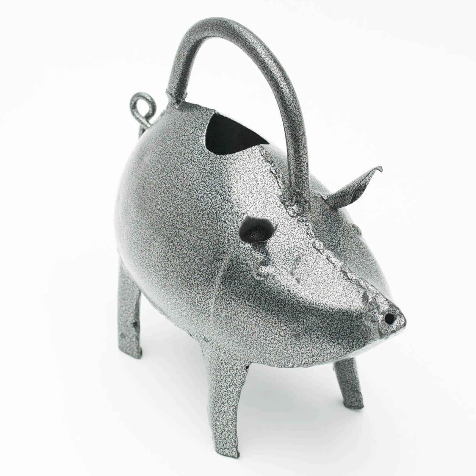 Unusual Watering Cans: Unique Country Pig Metal Watering Can