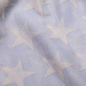 94123_a Soft Star Pale Grey Beige Scarf