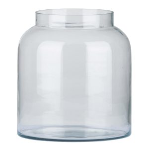 18903 Contemporary Apothecary Round Glass Jar