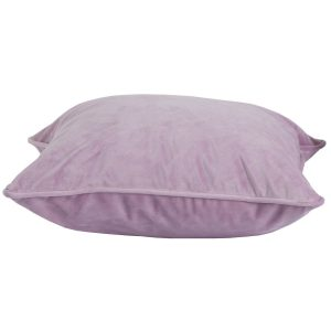 19343-a Pale Pink Velvet Cushion with Inner