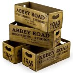 FC27 Abbey Road London Wooden Box Crate